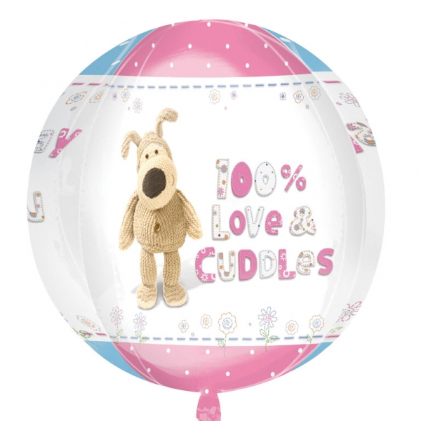 "16"" Boofle Happy Birthday Orbz Foil Balloon"