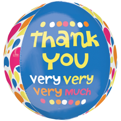 16 Thank You Very Very Very Much Orbz Foil Balloon 8811 P Png