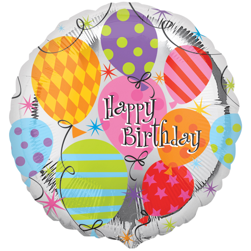 "18"" Balloon Birthday Foil Balloon"