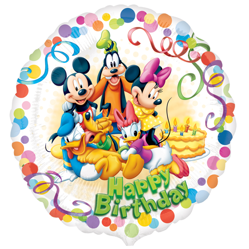 18 Quot Mickey Mouse And Friends Party Happy Birthday Foil Balloon