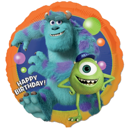18 monsters university happy birthday foil balloon 18 monsters university happy birthday foil balloon voltagebd Choice Image