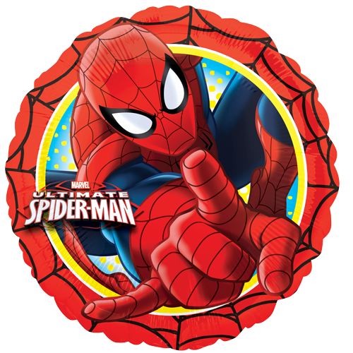 18 ultimate spider man action circle foil balloon - Images spiderman ...