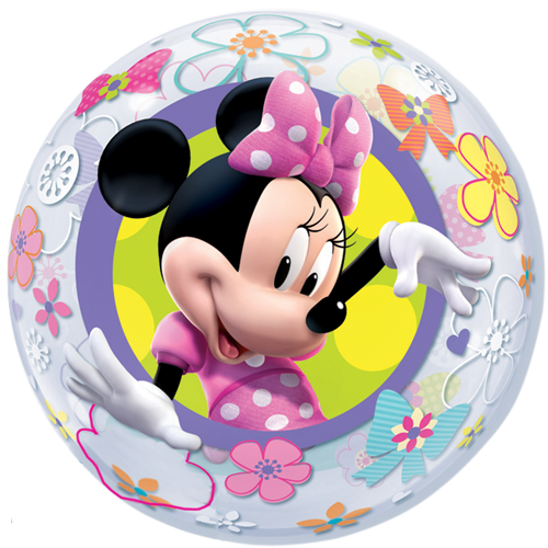 22 minnie mouse bow tique bubble balloon. Black Bedroom Furniture Sets. Home Design Ideas