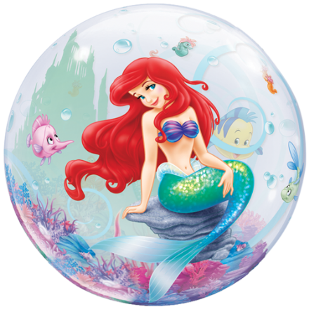 22 The Little Mermaid Bubble Balloon