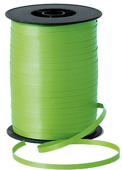 500m Lime Green Curling Ribbon