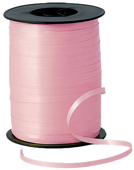 500m Pink Curling Ribbon
