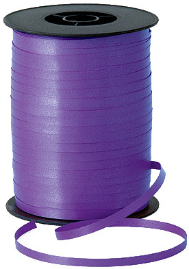 500m Purple Curling Ribbon