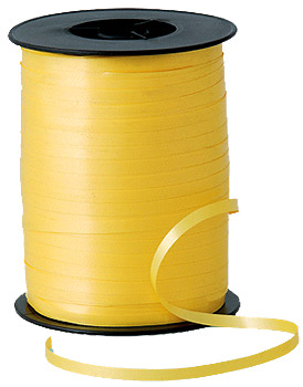 500m Sunshine Yellow Curling Ribbon