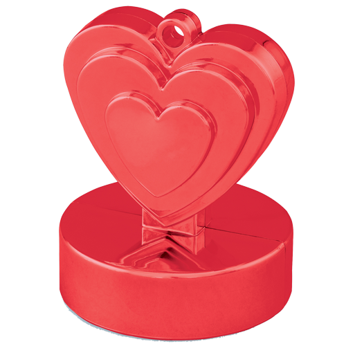 Red Heart Shaped Weight