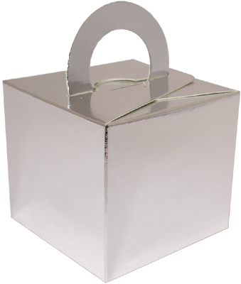 Silver Cardboard Box Weight